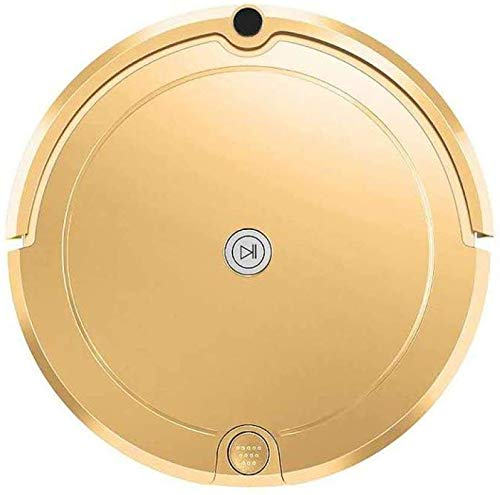 Perfect Zhoumei Cleaning Robot Multifunctionele Smart Floor Cleaner 3-in-1 Auto oplaadbare Smart Vegen Robot Dry dweilen Stofzuiger untla Thin mopRose (Color : Champagne Gold)
