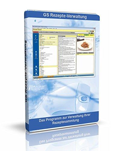 GS Rezepte-Verwaltung - Software zur Verwaltung Ihre Rezept-Sammlung - Datenbank Programm für Rezepte