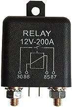 Sedeta 12V 200A Relay 4 Pin para el coche autom/ático de Altas Prestaciones Instalar Amp Estilo Chargeover