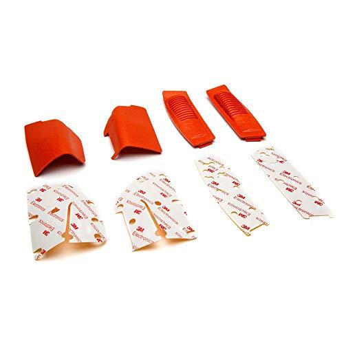 Spektrum Orange Grip Set with Tape: DX6 G2/3, DX8 G2