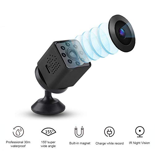 WiFi waterdichte actiecamera, draagbare draadloze 1080p HD 30M duiken onder water, groothoeklens, IR nachtzicht, draaibare video-opname, camcorder, DVR Motion Camera, ondersteuning spaken, zwart