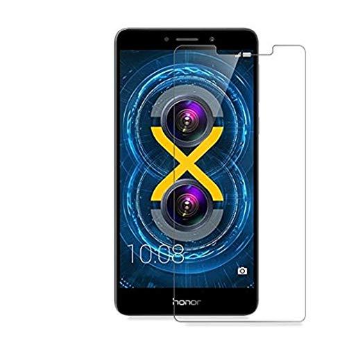 MB ACCESORIOS Protector de Pantalla, Cristal Templado con Pegamento Completo para Huawei Honor 6X