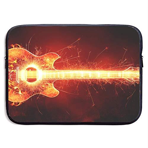Fashion Computer Liner Sleeve Case Blazing Gitarre mit Feuer für MacBook Pro/MacBook Air/Asus/Dell , 13inch