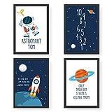 Papierdrachen 4 Premium Poster DIN A4 | Personalisierte