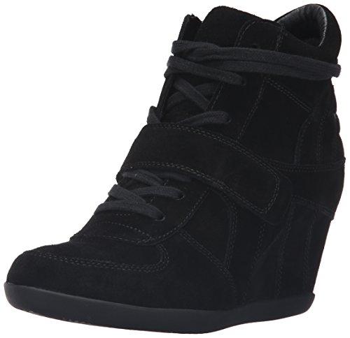 ASH Women's AS-Bowie Sneaker, Black/Black/Black, 38 M EU (8 US)