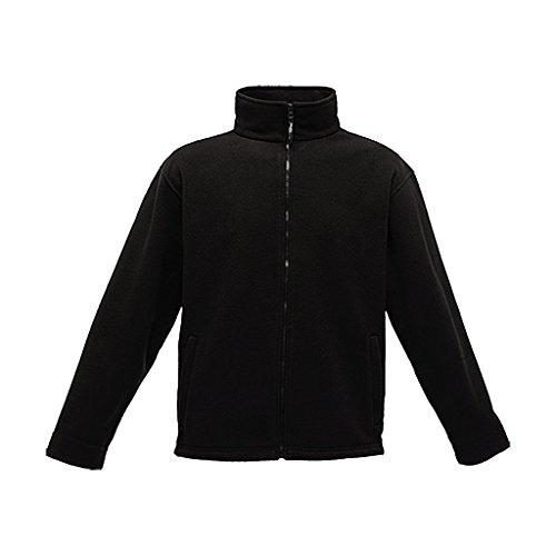 Regatta Herren Thor 350 Long Sleeve Fleece Jacke Medium Schwarz