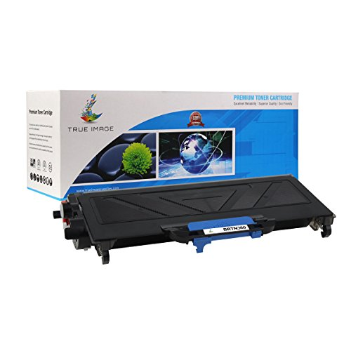 TRUE IMAGE Compatible Brother TN360 TN-360 Toner Cartridge (Black, 1 Pack)