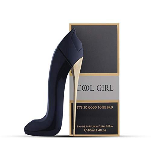 Perfume de larga duración Lady Perfume 40ml Zapatos de tacón alto Diseño Fruit Essense para niñas para Comestic
