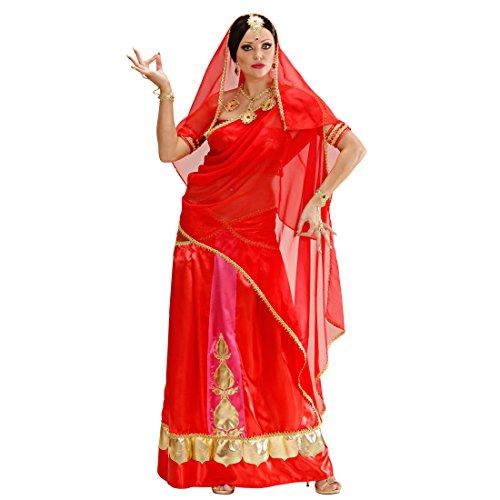 NET TOYS Damen Bollywood Kostüm Sari Damenkostüm M (38/40) Inderin Kleid Indische Kleider Orient