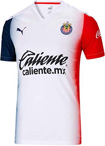 PUMA World Cup Soccer Chivas Away Shirt Replica Mens Chivas Away Shirt Replica, Puma White, XS