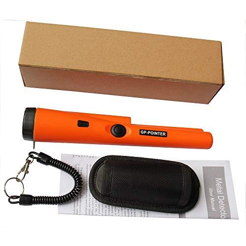 Tivivose. Rilevatore di metallo subacqueo Pinpoint MD-720 impermeabile Pinpointer Avviso audio Avviso e vibrazione e luce a LED (Color : MD 700Orange)
