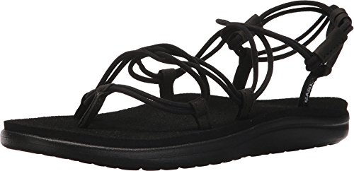 Teva Damen Voya Infinity Sandal Womens Pantoffeln, Schwarz (Black Blk), 39 EU
