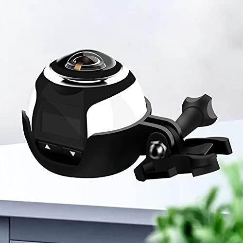 GYCS Cámara Impermeable, Mini cámara Deportiva 4K Impermeable al Aire Libre, Cámara panorámica de 360 Grados Cámara subacuática, Pantalla de Alta definición de 0,96 Pulgadas a Prueba de Agua