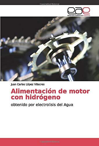 Alimentación de motor con hidrógeno: obtenido por electrolisis del Agua