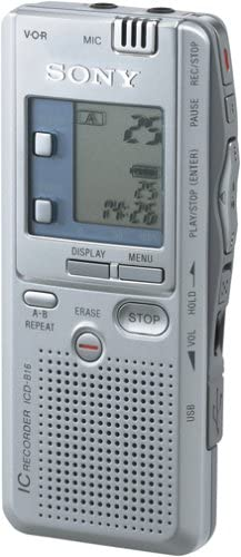Sony ICD-B16 Portable San Diego Mall Recorder Voice Digital Dealing full price reduction