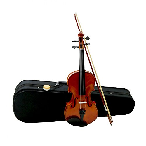 Oypla Full Size 4/4 Acoustic Violin Set With Case, Bow & Rosin