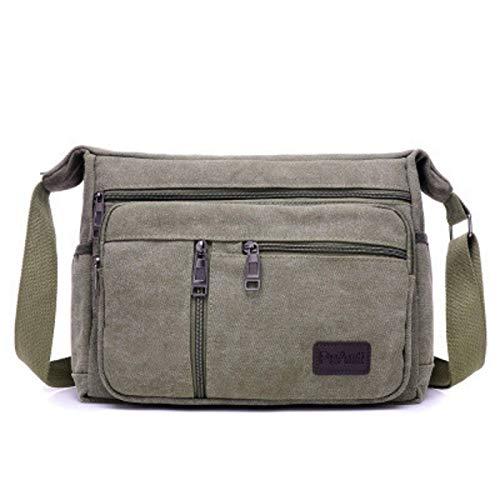 N-B Shoulder Bag Casual Men's Messenger Bag Shoulder Bag Men's Messenger Bag Canvas Men's Travel Bag Classic Simple Style Handbag