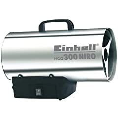 Single hot air generator HGG 300 Niro (30 kW, 1,5 bar bedrijfsdruk, 500 m3/h luchtvolumestroom, piëzo ontsteking, backburn bescherming, turbo ventilator)*