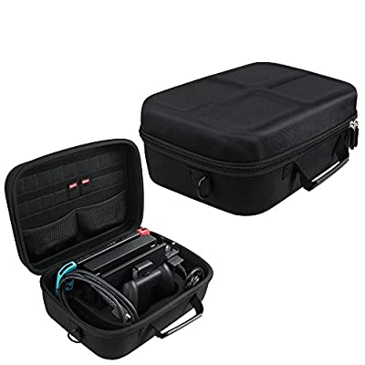Hermitshell Hard EVA Carry-All Travel Case Fits Nintendo Switch System from Hermitshell