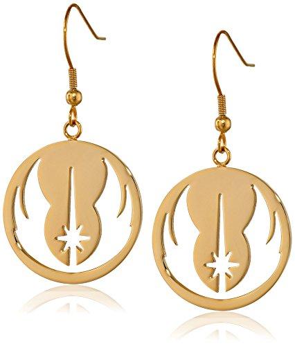 Jedi Orden, Star Wars Ohrschmuck aus Edelstahl, für Damen