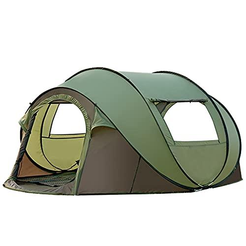 Tienda de campaña para 4 – 5 personas, tienda de campaña, tienda de campaña grande a prueba de lluvia, antimosquitos, al aire libre, senderismo, hogar familiar, para senderismo, camping al aire libre