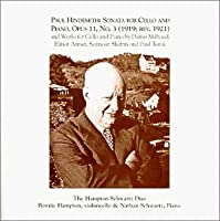 Sonata for Cello and Piano, Opus 11, Works for Cello and Piano