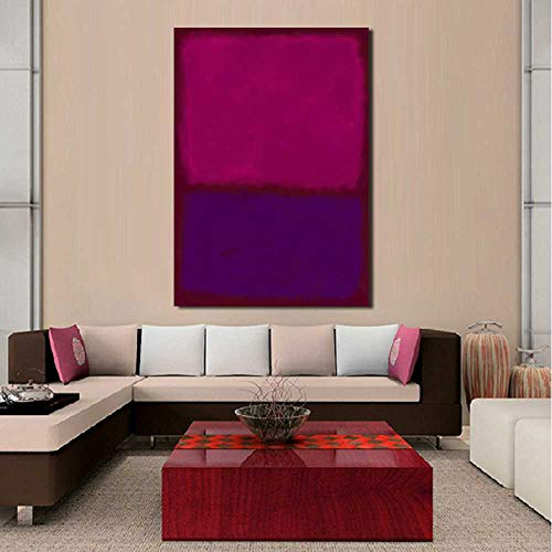 CAPTIVATE HEART Pintura de la Lona 60x90cm sin Marco Mark Rothko Pintura al óleo clásica Cuadro de Arte de Pared decoración del hogar Sala de Estar Moderna