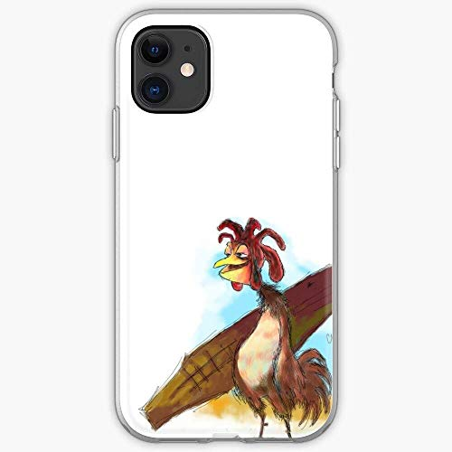 AOTSNUPY Good Smell Fried Chicken Surf Board Joe Man Fundas de teléfono Pure Clear para iPhone 12/11 Pro MAX 12 Mini SE X/XS MAX XR 8 7 6 6s Plus