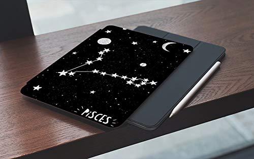 MEMETARO Funda para iPad 10.2 Pulgadas,2019/2020 Modelo, 7ª / 8ª generación,Cielo Nocturno Estrellado de Estilo Infantil con Luna y Planetas Smart Leather Stand Cover with Auto Wake/Sleep