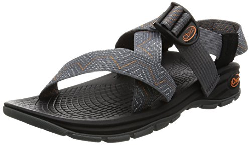 Chaco New Zvolv Lead Gray 9 Mens Sandals