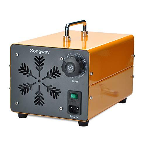 Songway Commercial Ozone Generator Eliminador de olores Esterilizador de aire para el hogar, oficina, escuela, garaje, gimnasio, restaurante, hotel, cines, iglesia, purificador de aire