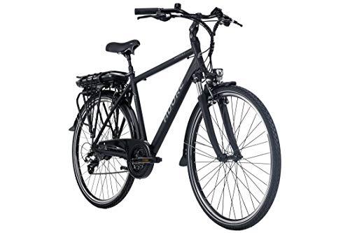 Adore E-Trekking Bike Herren Marseille 28'' Pedelec schwarz 24Gang E-Bike 250Watt Li-Ion 37V/13Ah