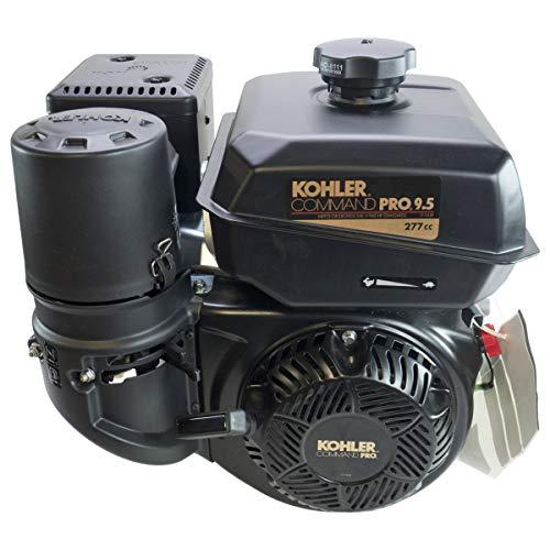 Kohler 9.5HP Command Pro, Horizontal 3-21/32' Threaded Shaft, OHV, CIS, Los, Dual Bearings, Cyclonic Air Engine