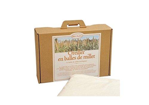 Mille Oreillers - Oreillers de Millet Bio - 60 x 60 cm
