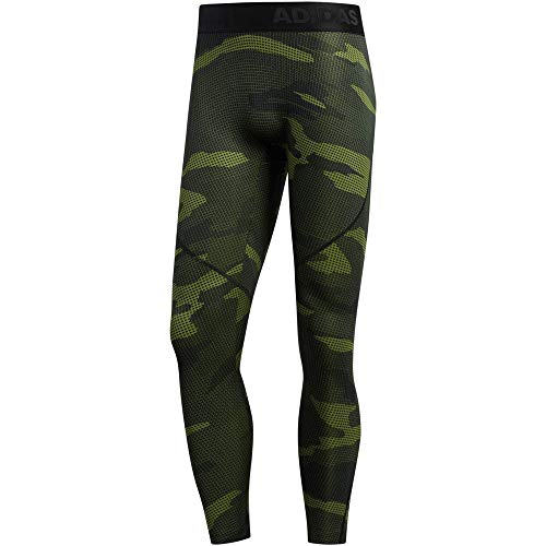 adidas Alphaskin Tech Camo Pack Long Strumpfhosen - AW19 - Medium