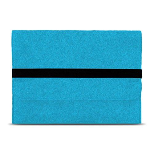 NAUC Laptop Tasche Hülle kompatibel für Lenovo ThinkPad T14 T14i T14s Filz Sleeve Schutzhülle Notebook Case 14 Zoll Cover Schutz, Farbe:Türkis