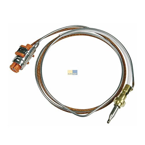 Europart 10029517 Thermoelement Thermoschalter 500mm GAS Kochfeld Kochmulde passend wie Whirlpool Bauknecht Brastemp IKEA Ignis Integra Kingswood Laden Polar Prima 481010566187
