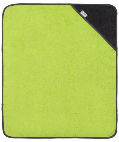Luma Babycare Sortie de Bain avec Capuchon - Lime Green