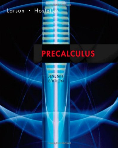 Precalculus, Seventh Edition