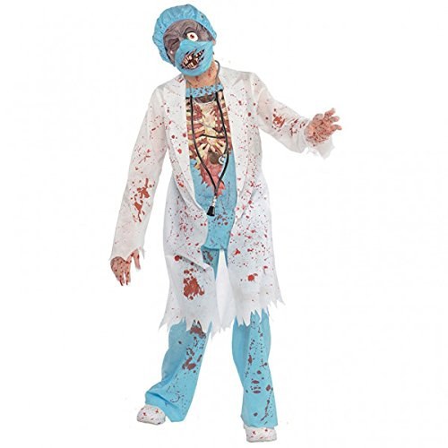 Costume Enfant - Chirurgien Zombie - taille 8-10 ans