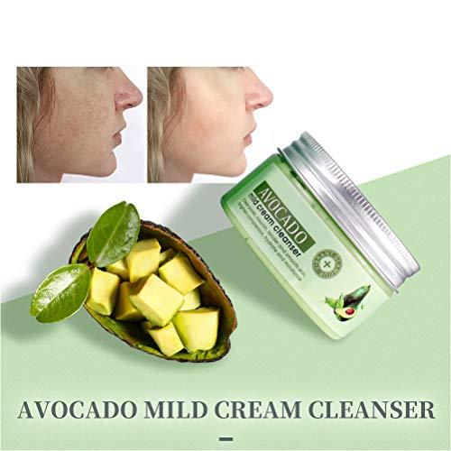 Auplew Aguacate mascarillas removedor de espinillas poros faciales Limpia espinillas y desintoxica la Piel