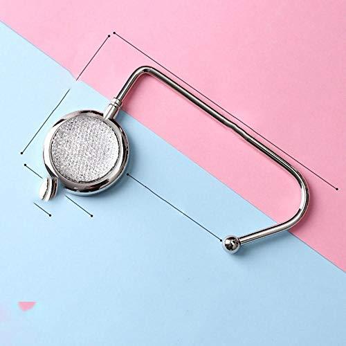 Bolso plegable de metal portátil creativo, gancho para...