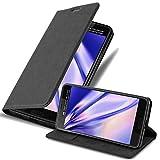 Cadorabo Funda Libro para HTC U Ultra en Negro Antracita - Cubierta Proteccíon con Cierre Magnético, Tarjetero y Función de Suporte - Etui Case Cover Carcasa