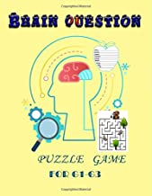 Brain Question Puzzle Game for G1-G3: Children's Game book , Scramble , Word Search, Maze and Acrostic Puzzle