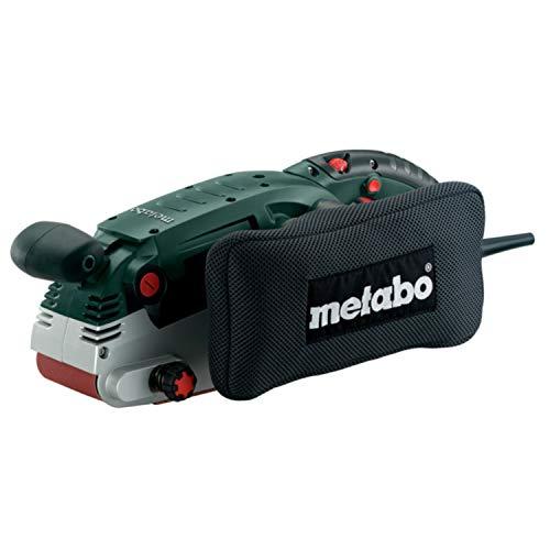metabo 6.00375.00 600375000-Lijadora de Banda para Madera BAE 75 1010W con Soporte estacionario Incluido, 1010 W, Negro, Size