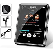 """32G MP3 Player JBHOO MP3 with Bluetooth 5.0, Music Player with Watch Band, FM Radio, Sport Pedometer, Recording,1.5"""" Full Touchscreen HiFi Lossless Sound with Speaker for Running"""