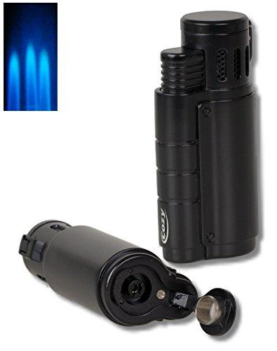Cozy Zigarrenfeuerzeug Bomber 3x Laser+Bohrer inkl. Lifestyle-Ambiente Tastingbogen