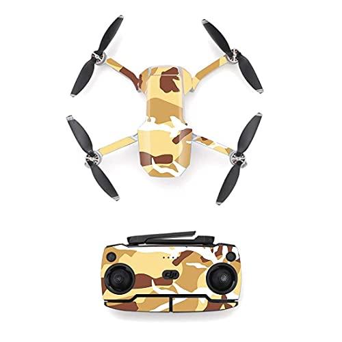 Accessori per droni Adesivo in pelle stile mimetico mimetico per DJI Mavic Mini drone e telecomando Decalcomania per pelli in vinile Cover M0006 Accessori per quadricotteri Facile da riparare
