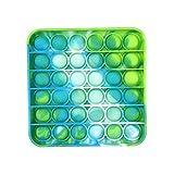 Gazaar Pop It Fidget Toys, Push Pop Bubble Fidget Sensorial Juguete para aliviar el estrés y la ansiedad, TDAH y autismo