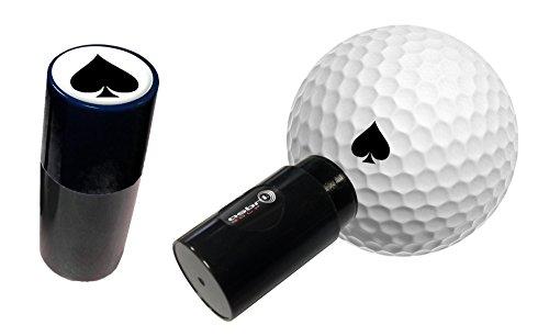 Asbri Golf Vanga Ball Stamper–Nero